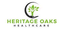 Heritage Oaks Healthcare's logo takes you to their list of jobs