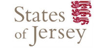 States of Jersey's logo takes you to their list of jobs