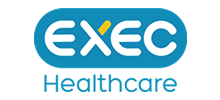 EXEC Healthcare's logo takes you to their list of jobs