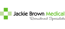 Jackie Brown Medical's logo takes you to their list of jobs