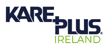Kare Plus Ireland's logo takes you to their list of jobs