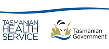 Tasmanian Health Service's logo takes you to their list of jobs