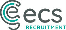 ECS Recruitment's logo takes you to their list of jobs