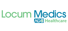 Locum Medics's logo takes you to their list of jobs