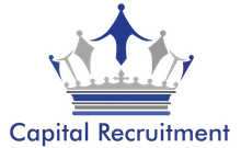 Capital Recruitment's logo takes you to their list of jobs