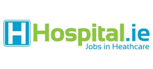 Hospital.ie's logo takes you to their list of jobs